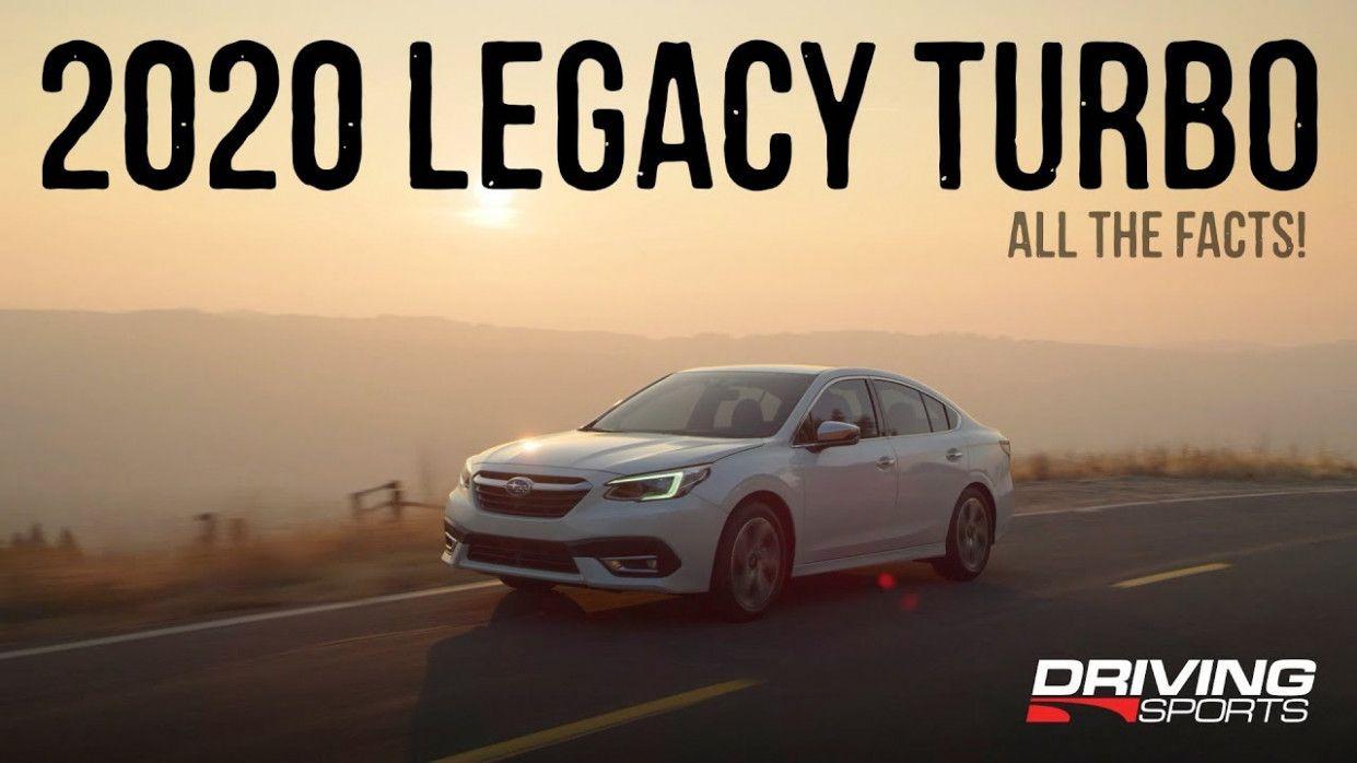 2020 Subaru Legacy Brochure in 2020 Subaru legacy gt