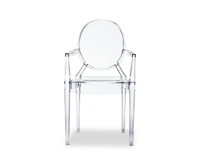 Replica Philippe Starck Louis Ghost, Stackable Chairs