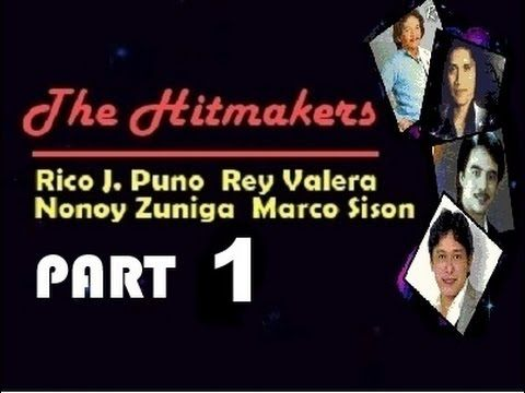 Non-Stop THE HITMAKERS Part 1 [Songs by Rico J. Puno,Rey Valera,Nonoy Zu...