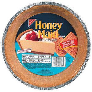 Nabisco Honey Maid Pie Crust Graham 6 Oz Honey Maid Graham Cracker Crust Honey Maid Graham Crackers Honey Maid