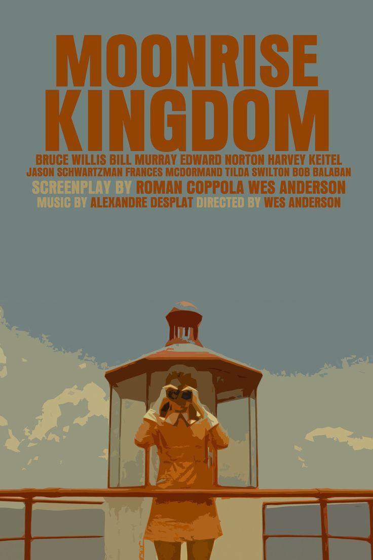 Wes Anderson Moonrise Kingdom Poster