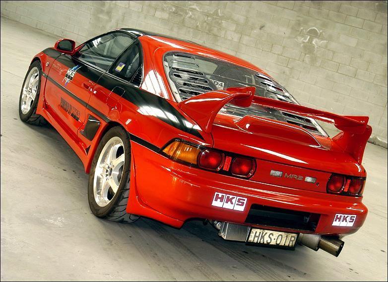 Hks Custom Mr2 Display Car Mr2