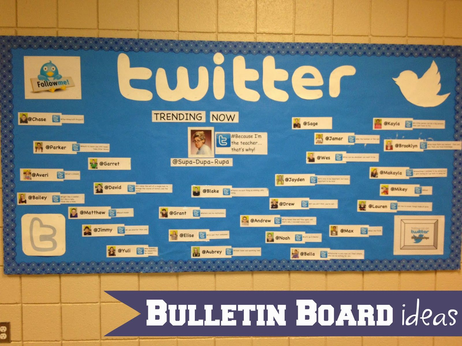Classroom Interactive Ideas ~ Classroom bulletin board ideas from marci coombs