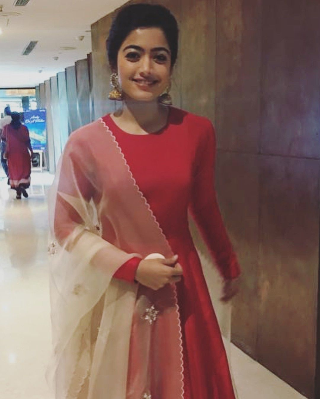 352e407493 Rashmika mandanna red outfit | celebrity collection in 2019 | Indian ...