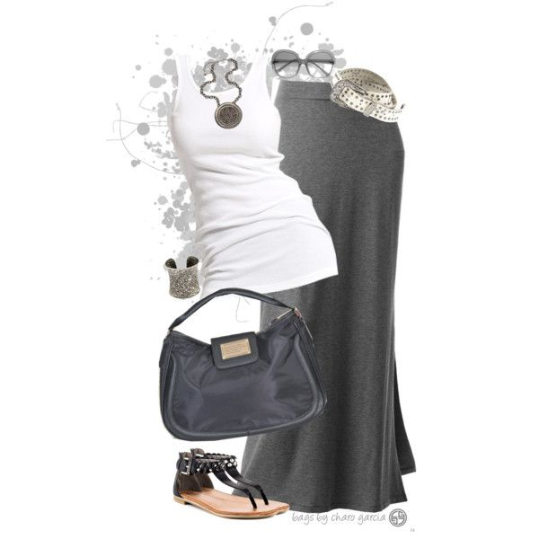 """go maxi"" by CG on Polyvore"