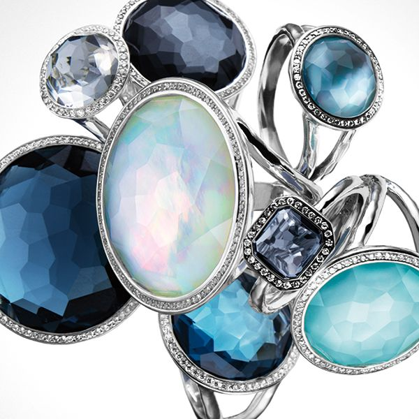 ippolita rings gold sterling silver gemstones diamonds