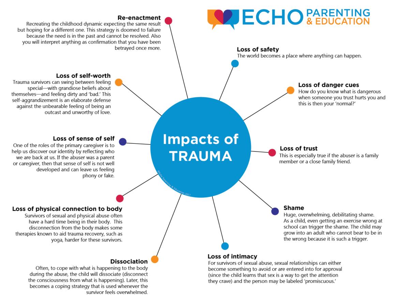 The Impact of Trauma - Echo Parenting & Education | Educator ...