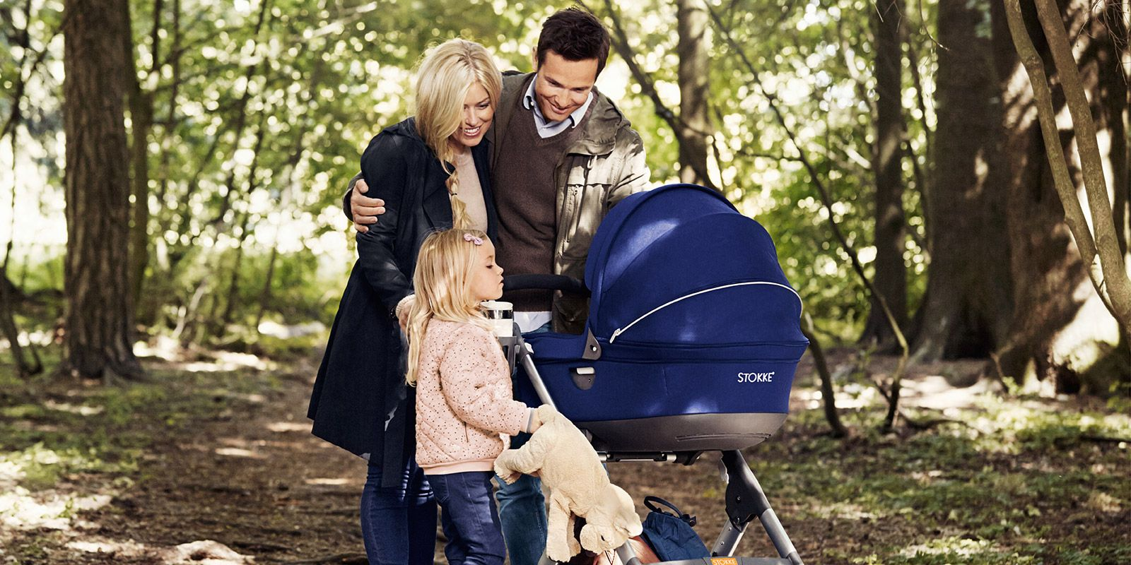 Stokke® Trailz™, the first all terrain stroller in our innovative stroller collection. The stroller is built for action, and takes your family wherever you want to go effortlessly, in ease and comfort,