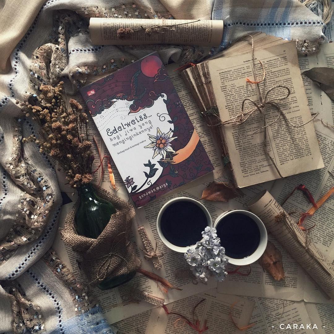 kopi bunga dan buku hai kak shaihandmade