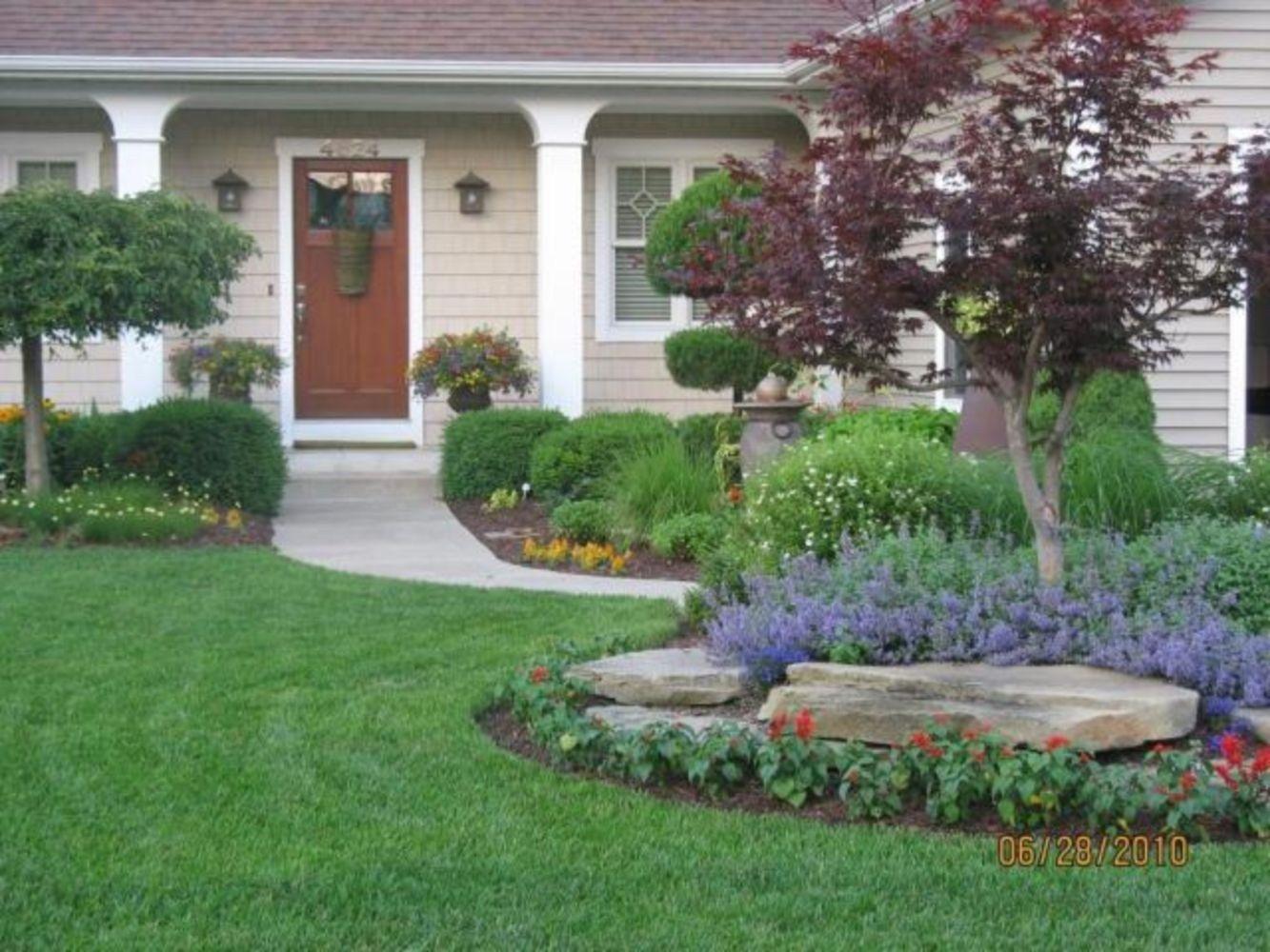 Calm and peaceful garden design for backyard and frontyard ...