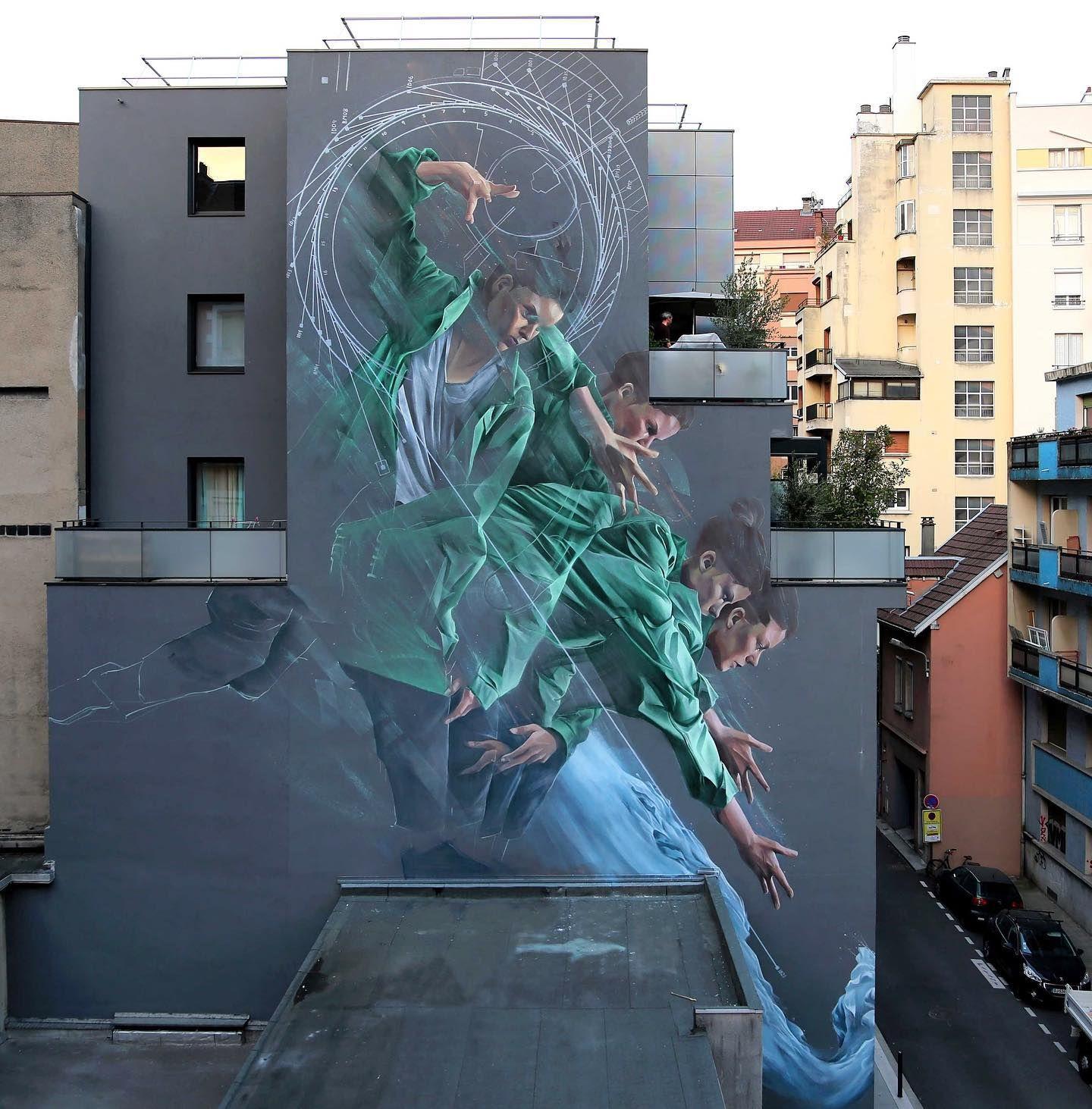 Li Hill Process Of Acceleration For Street Art Fest Grenoble