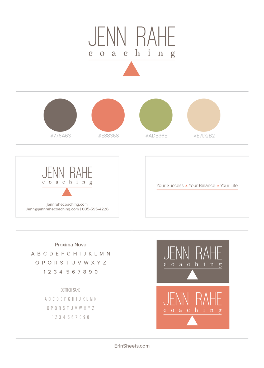 Jenn Rahe Coaching — Erin Sheets | Career Inspiration | Pinterest ...