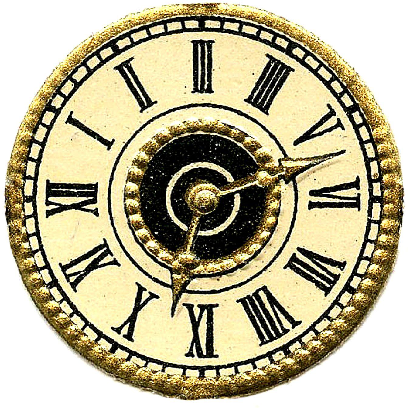 Vintage Images More Cute Clock Faces Steampunk Clock