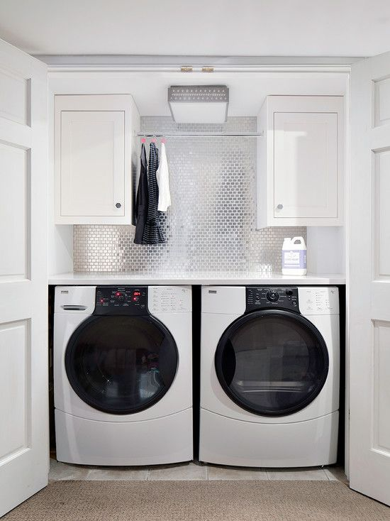 Charming Ideas On How To Design Your Own Laundry Room With Wooden Cabinet Remarkable Using White Washing