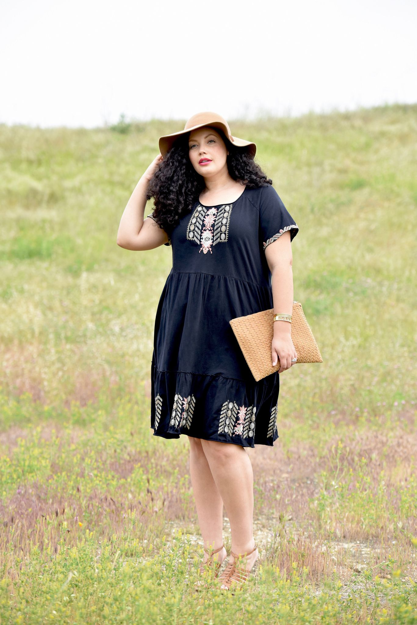 Little Black Sundress Tanesha S Style Fashion Plus
