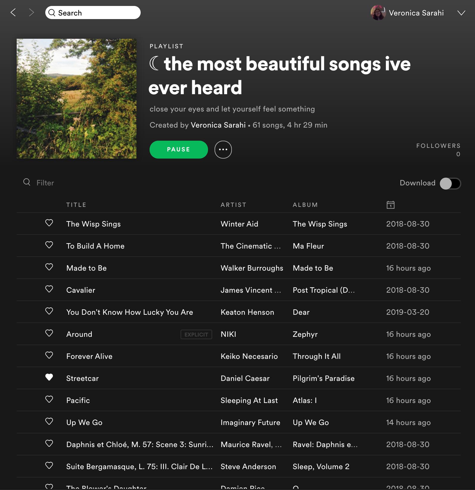 Spotify Freakingsarah Music Playlist Good Vibe Songs Vibe Song