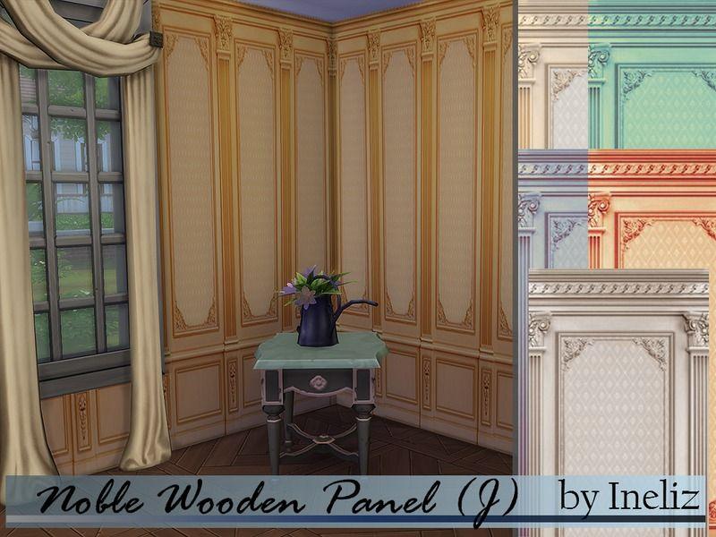 Ineliz's Noble Wooden Panel (J)