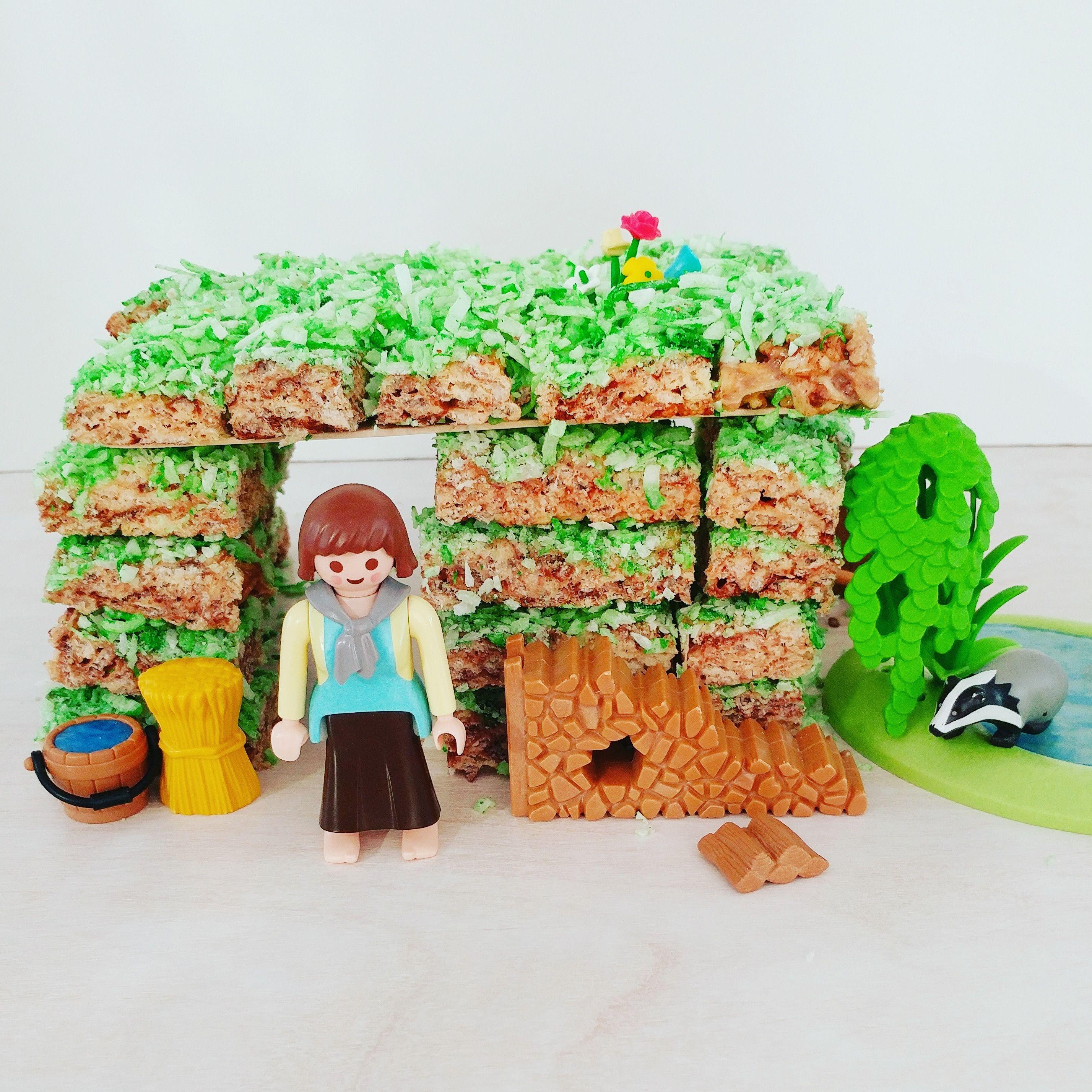 Building A Sod House