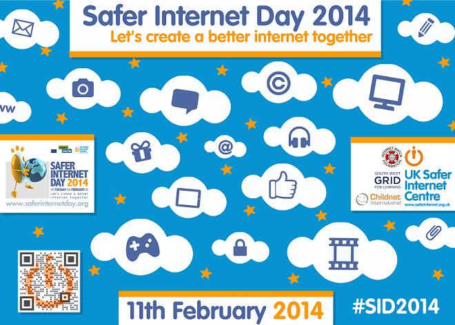 Guide To A Safer Internet Day Youngzine Safe Internet Internet Cyber Safety