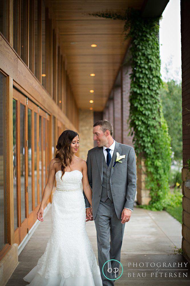 Lisa And Mark Vadnais Heights Commons Wedding Photography