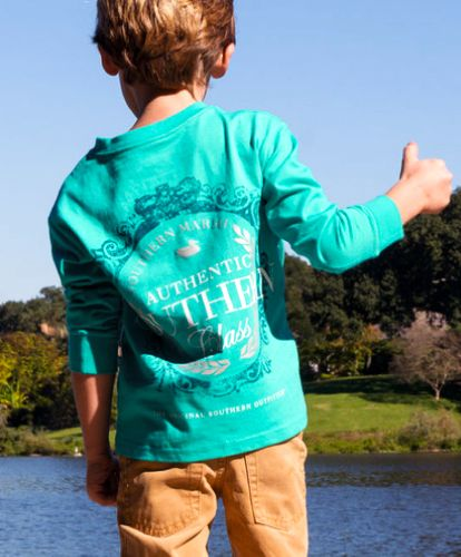 Southern Marsh Kid/'s Youth Authentic Tee