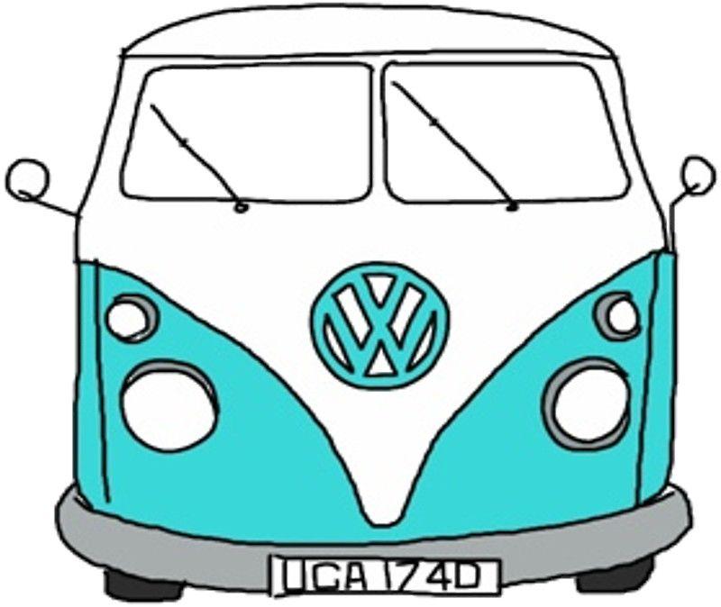 Vw Bus By Kayleesuniverse Stickers Pinterest Vw Bus