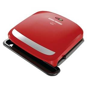 George Foreman 4-Serving Removable Plate Grill : Target