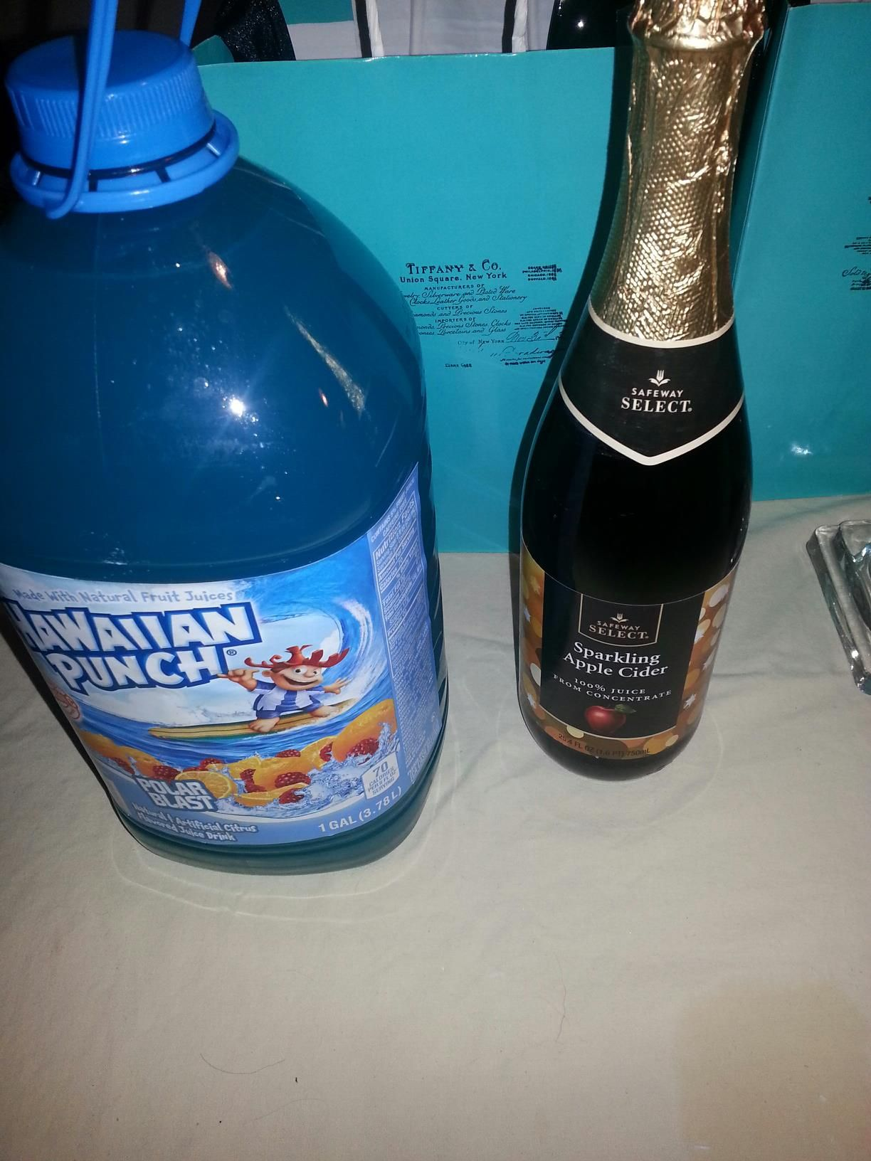 "what we actually did ""tiffany blue"" hawaiian punch and"