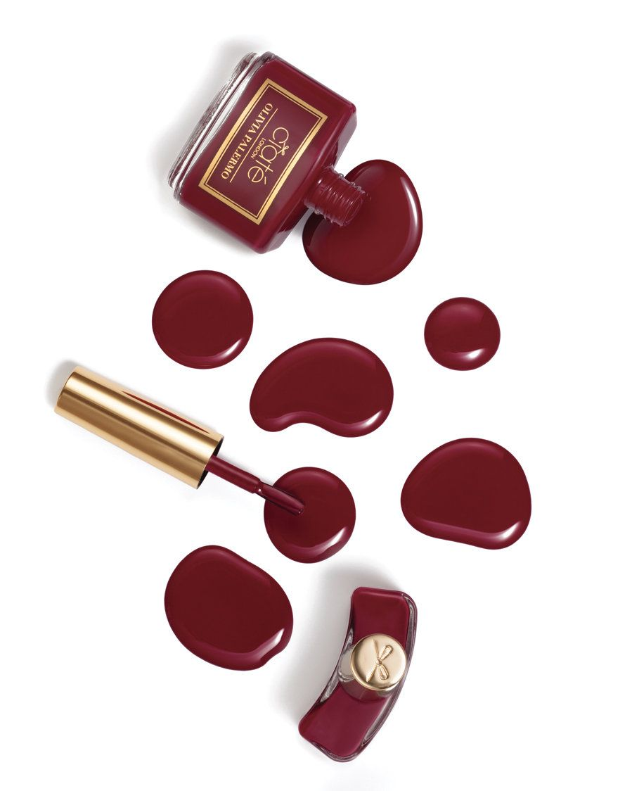 Olivia Palermo's 'Napa Valley' wine red color for Ciaté London | Sephora Beauty Board
