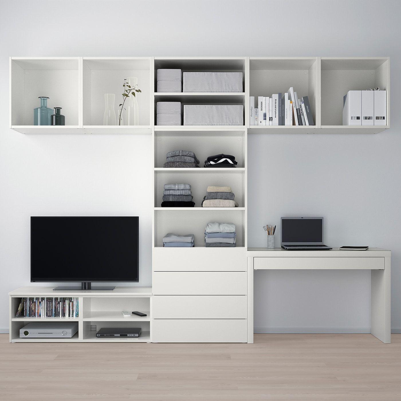 Platsa Objednajte Si Este Dnes Uloz Kombinacia Media Ikea In 2020 Media Storage Ikea Ikea Tv