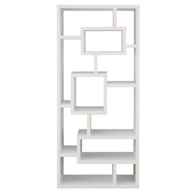 Cleisthenes Geometric Bookcase In 2020 Modern Bookcase Bookcase Modern Furniture