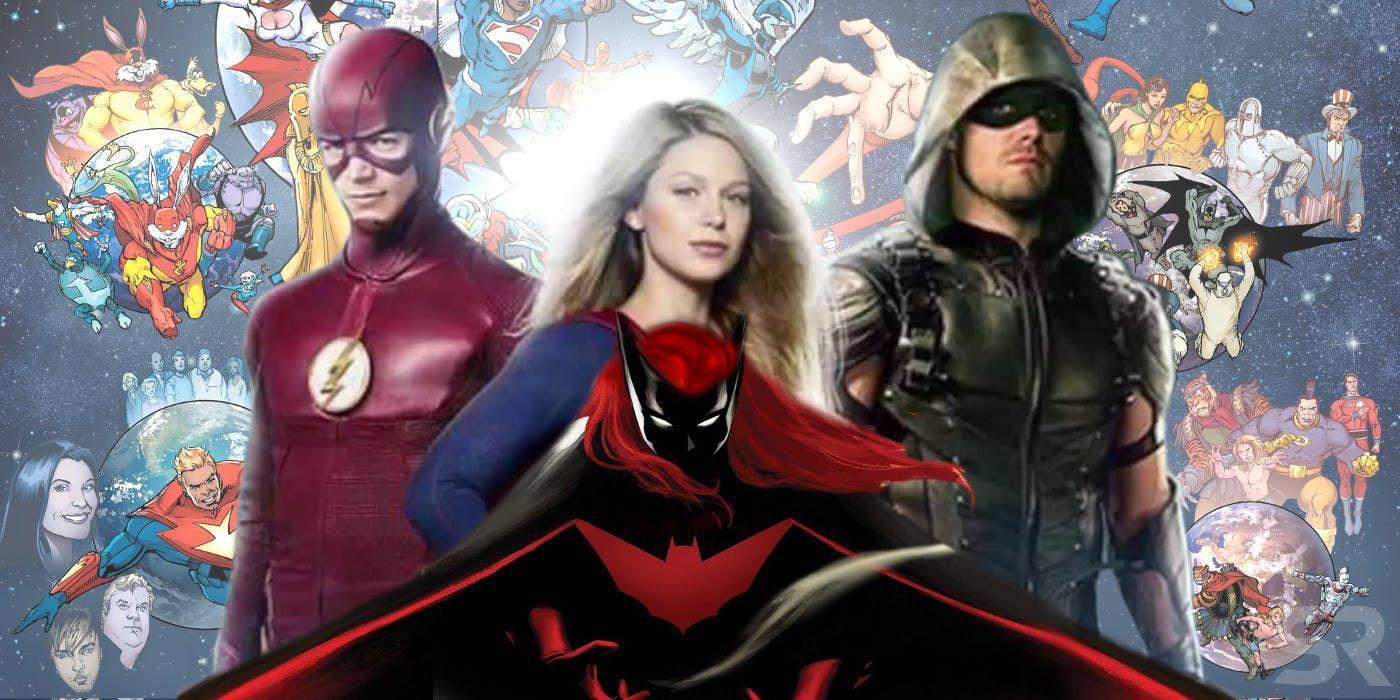 Arrowverse Elseworlds Teaser Trailer Shows Supergirl