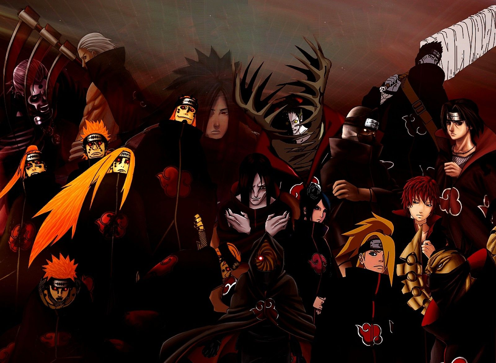Cool Akatsuki Wallpaper Naruto Y Snk