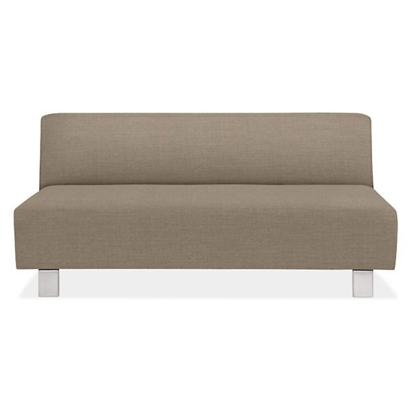 Chelsea Armless Sofa   Modern Sofas   Modern Living Room Furniture   Room U0026  Board