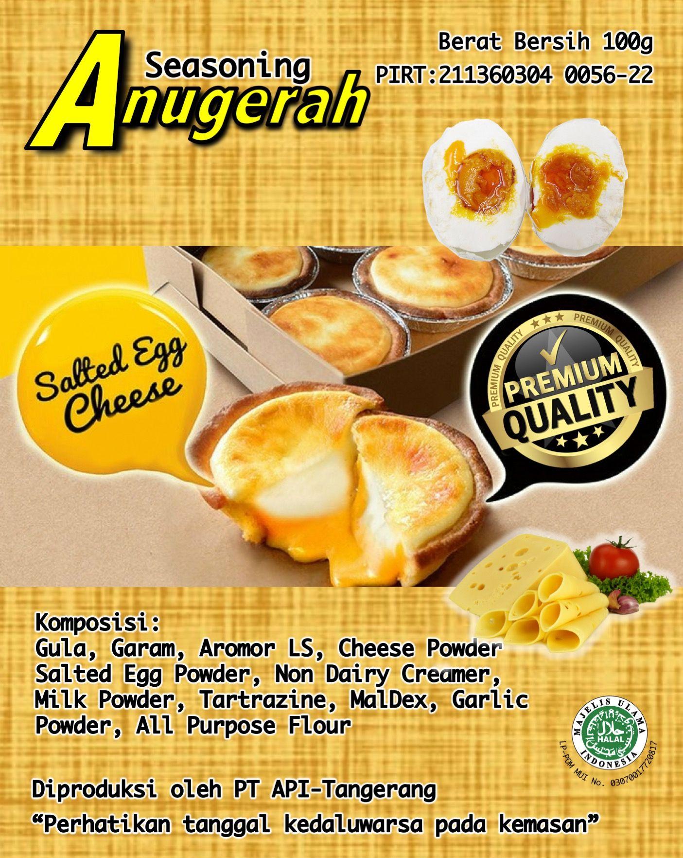 Salted Egg Cheese Terbuat Dari Telur Asin Dengan Cheese Yang Sudah
