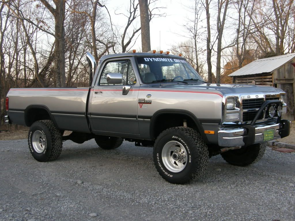 Old Dodge Ram >> Old Trucks With Stacks 1st Gen Cummins Classic Cars And Trucks