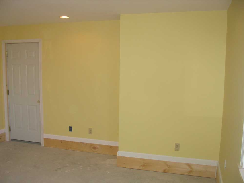Sherwin williams 6694 glad yellow master bedroom for Yellow painted rooms