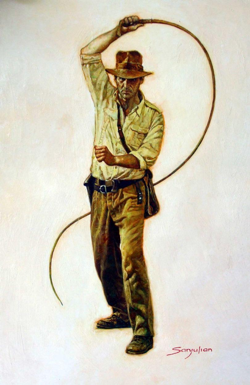 Indiana Jones By Sanjulian Comic Art Indiana Jones Indiana Jones Adventure Indiana