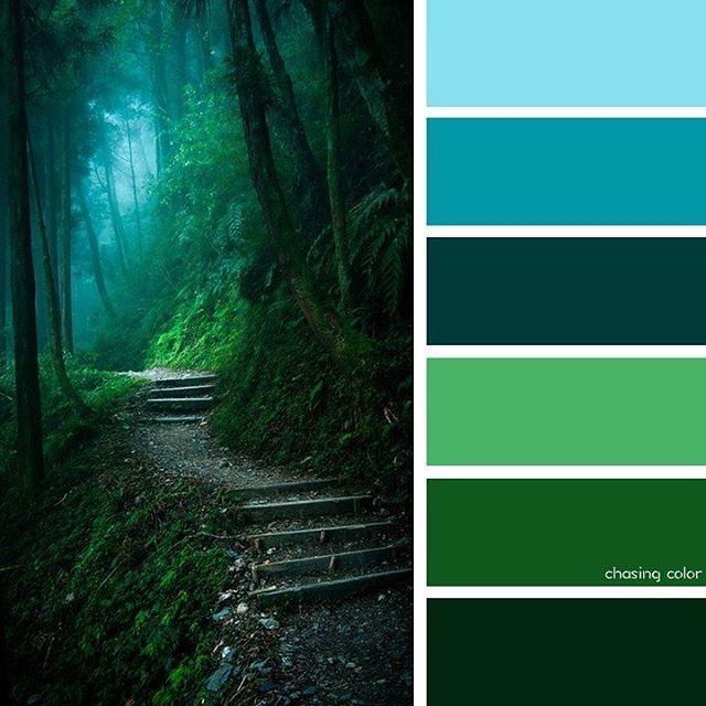 цвет зеленый холодный картинки очень сложно комбинировать