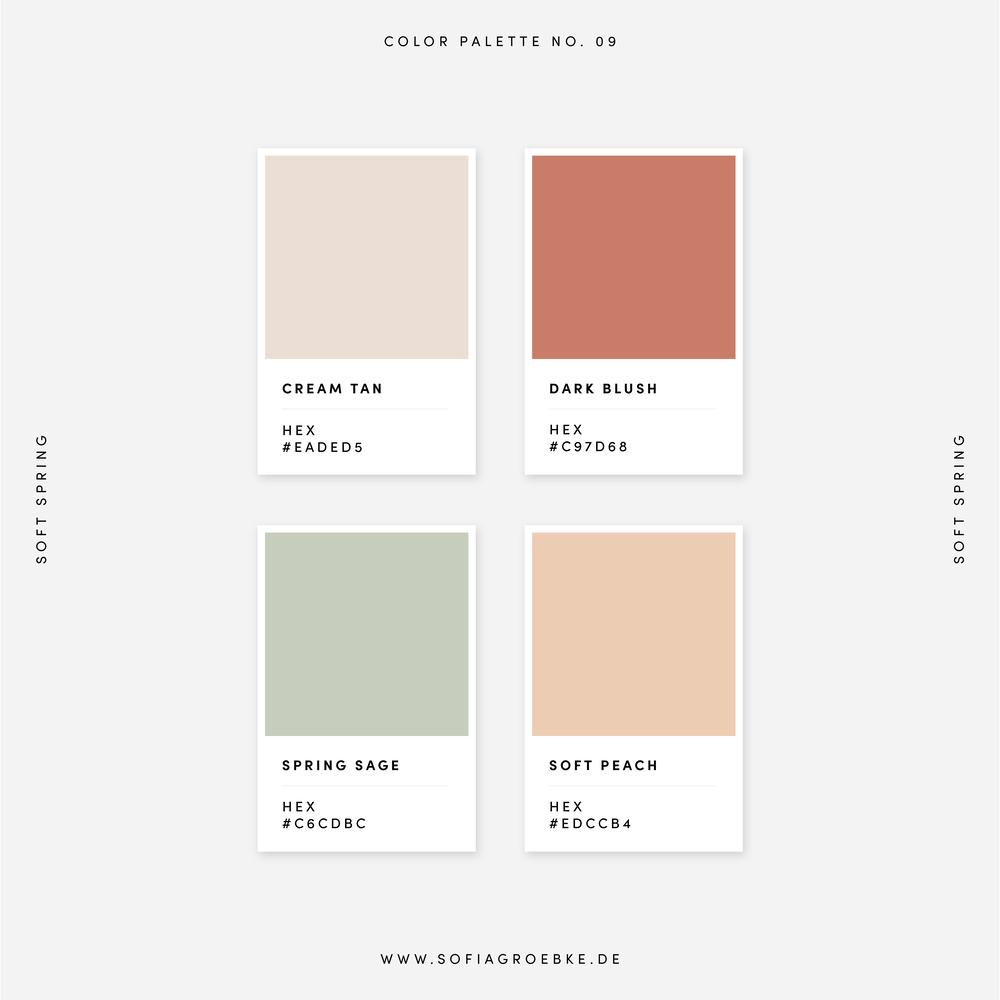 Color Collection: 50 Farbpaletten und Kombinationen 2020 | Sofia Groebke — Design Studio