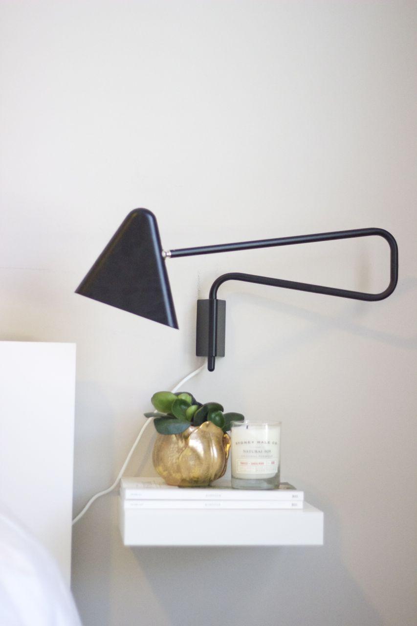 Ikea Malm Zwevend Nachtkastje.Lack Plankje Als Nachtkastje Bedroom In 2019 Ikea Ideeen