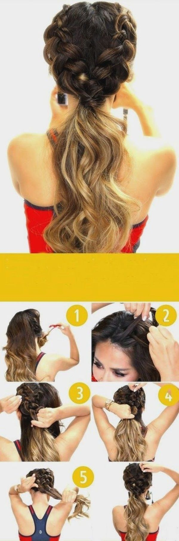 easy hairstyles for schools to try in