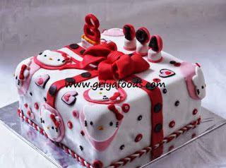 GriYa Foods Cara Menghias Birthday Cake dengan Fondant Birday
