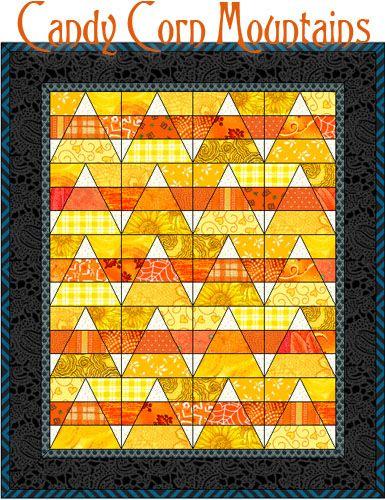 Candy Corn Mountains   Quilt design, 30th and Fabrics : quilt design wizard - Adamdwight.com