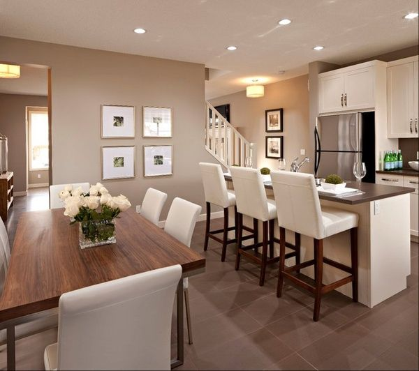 Cardel Designs: Spectacular Open Floor Plan With Mocha Walls And High  Ceiling With Generous Recessed . Those Mocha Walls Are Everything!