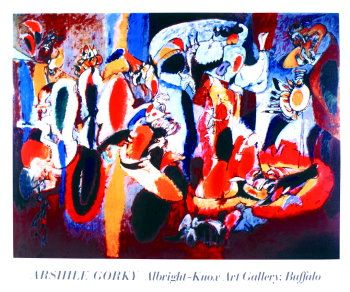 Liver Arshile Gorky Ps387 70 X 90 Cm With Images