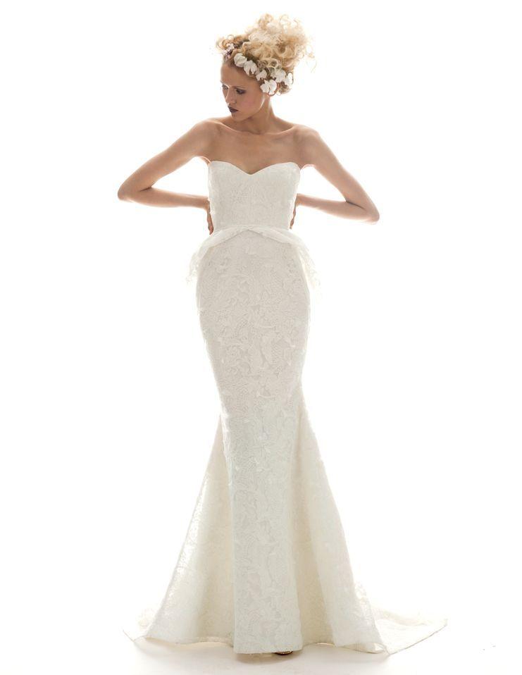 Isabella by Elizabeth Fillmore Spring 2013 Bridal Collection #Bride #WeddingDress #Wedding #Luxury