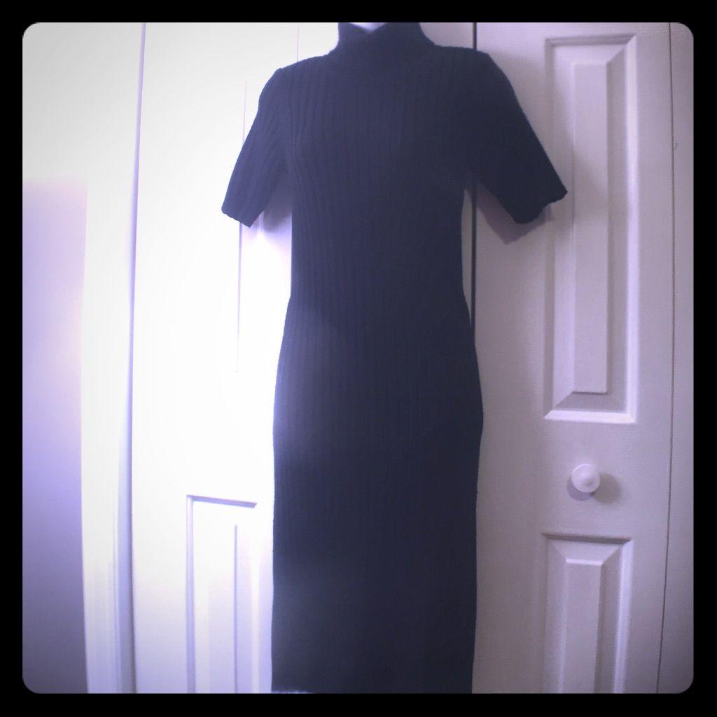 Midi Turtle Neck Sweater Dress By 525