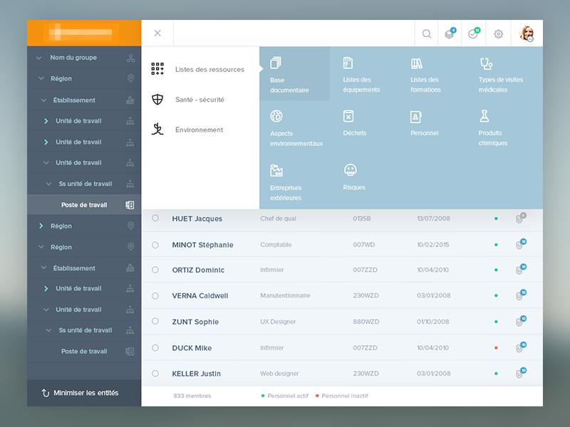Responsive Mega Menu Web app Mega menu, Menu design, App
