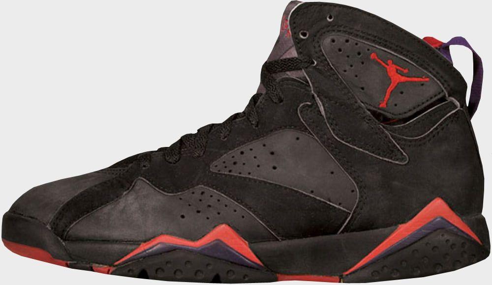 858ca52ce61 Air Jordan 7 Black Red | Michael Jordan wit the tennis shoe! in 2019 ...